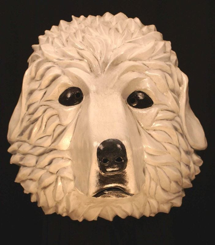 Great Pyrenees Mask