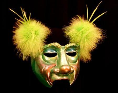 Half Mask, Greenster Mardi Gras