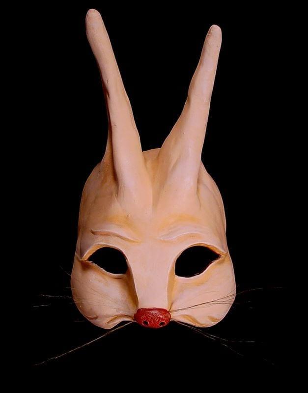 Hare Half Mask