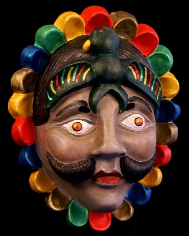 Huitzizil Tzunum Mask