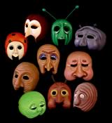 Masks for James and the Giant Peach