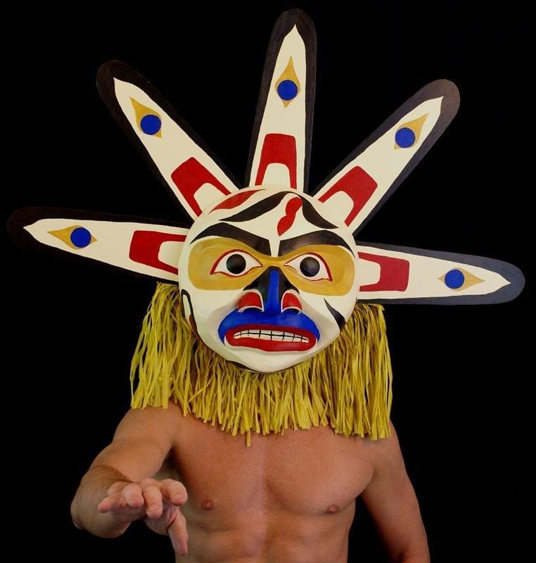 Modeled Lalooska Sun Mask