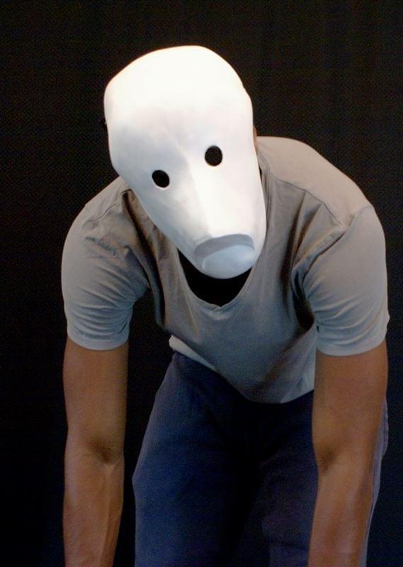 Larval Mask 11b, Modeled