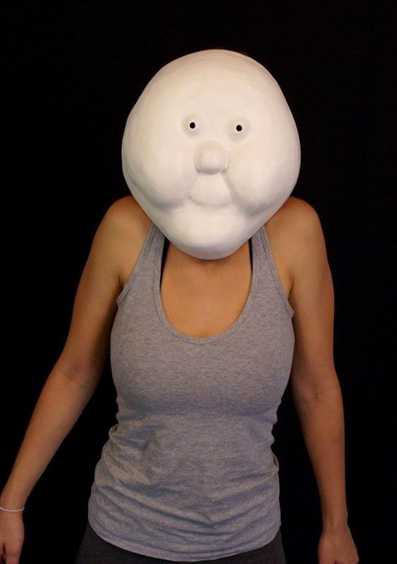 Larval Mask 12a, Modeled