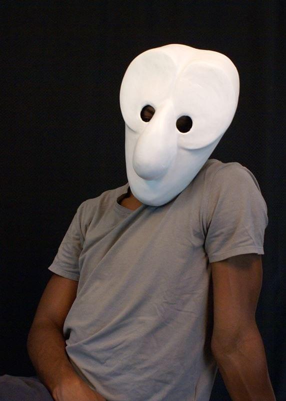 Larval Mask 14b, Modeled