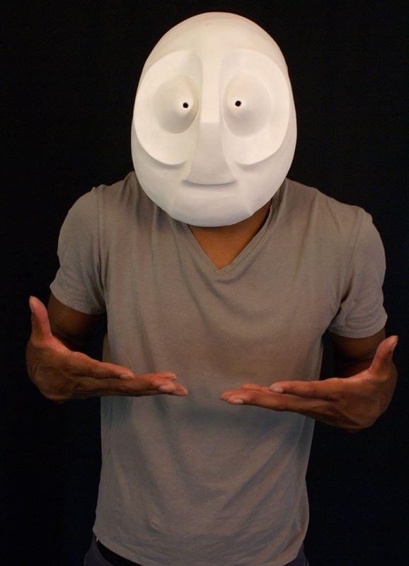 Larval Mask 1b, Modeled