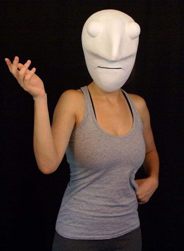 Larval Mask 2a, Modeled