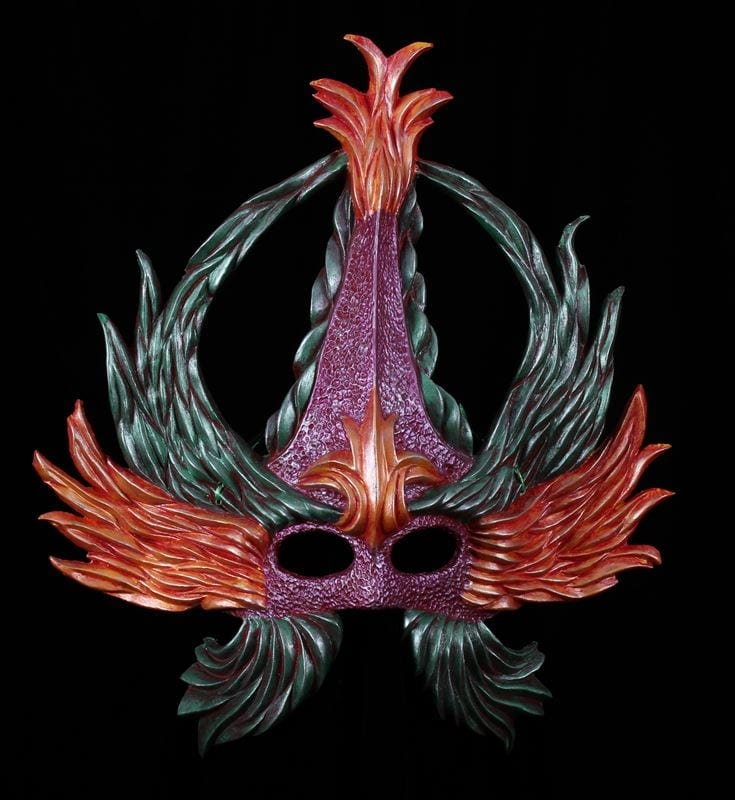 Crowned Glory Mardi Gras Mask