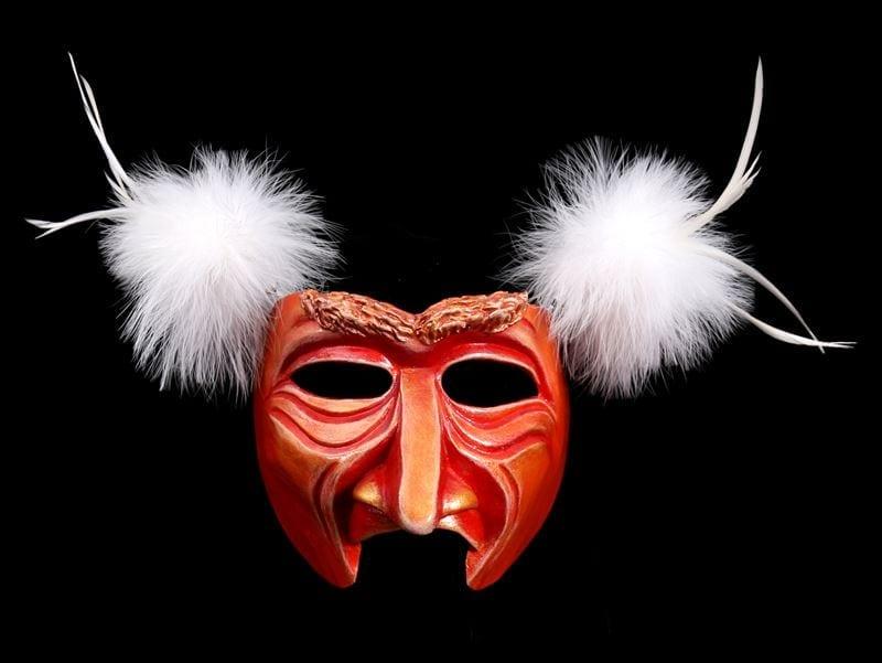 Mango Man Mardi Gras Half Mask
