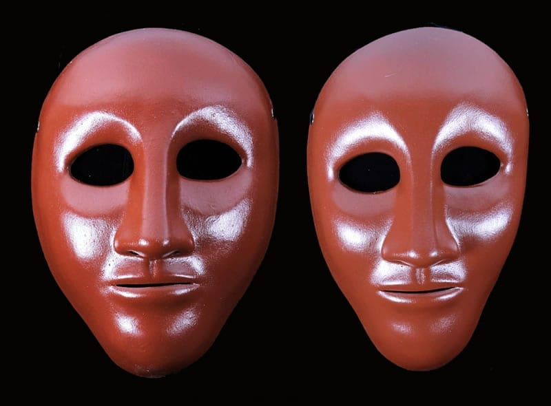 Neutral Theater Masks for Actor Training