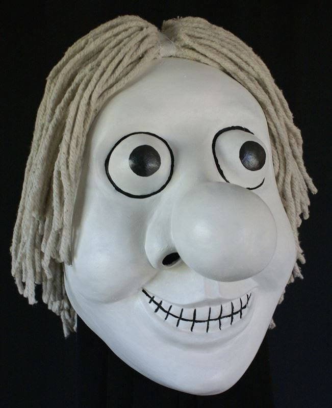 Nosey Bonk Mask, Right Side View