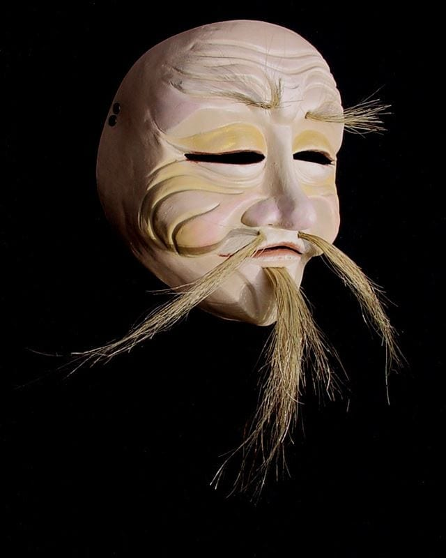 Old Chinese Man Mask