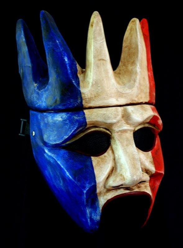 Half Mask, Patriotic Crowned Chorus