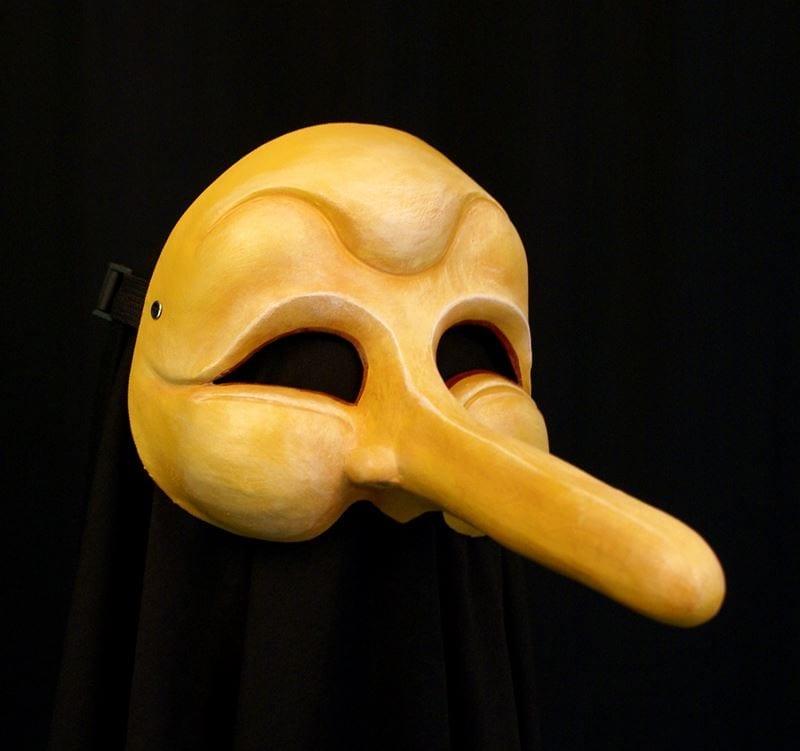 Half Mask, Pedro Pinoccio