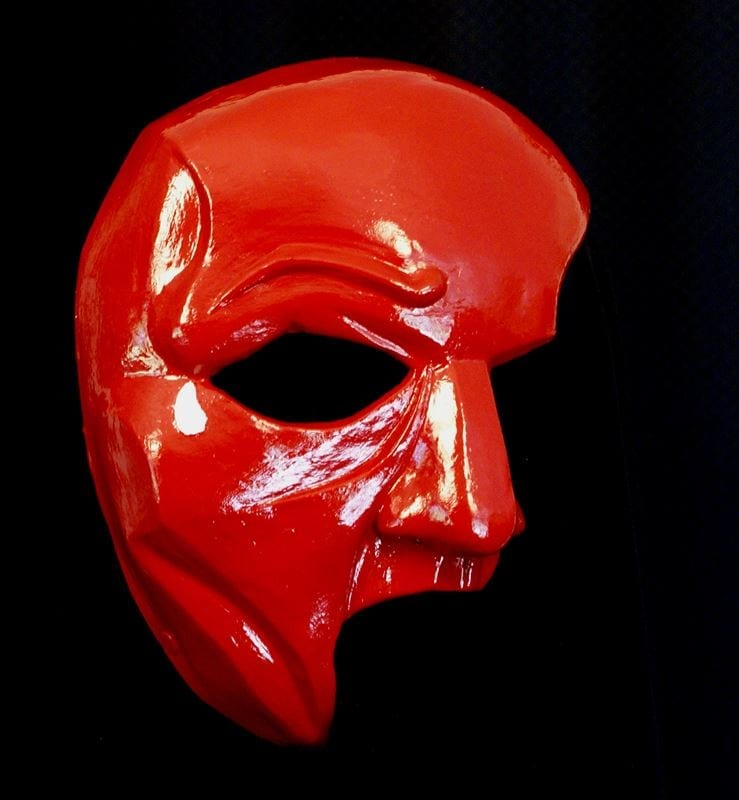 Red Phantom Mask
