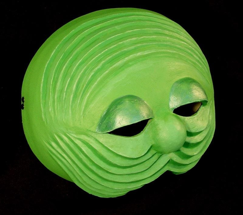Half Mask, Silk Worm