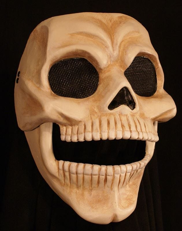 Skull Mask with Moveable Jaw, View 1