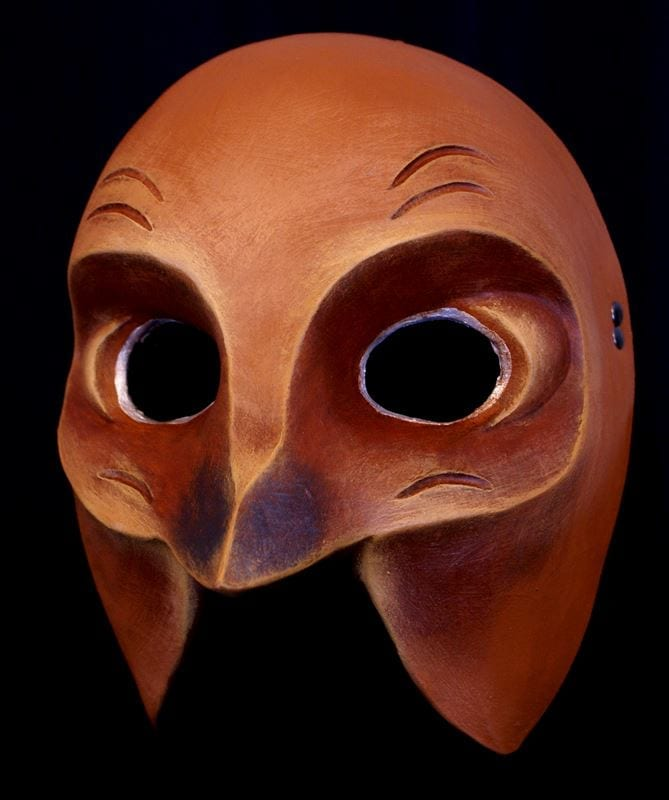 Swallow Half Mask