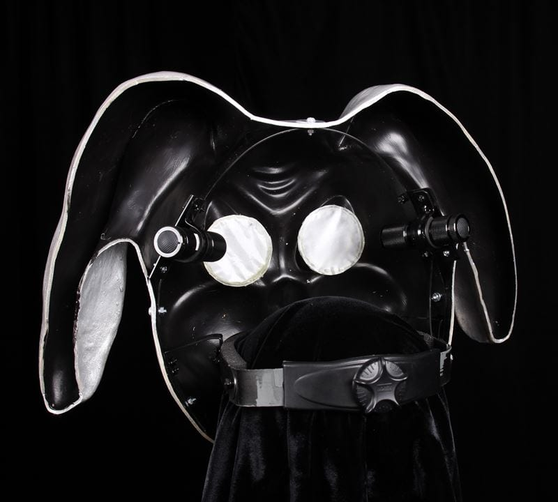 Technibeats Gummy DJ Mask, Back View