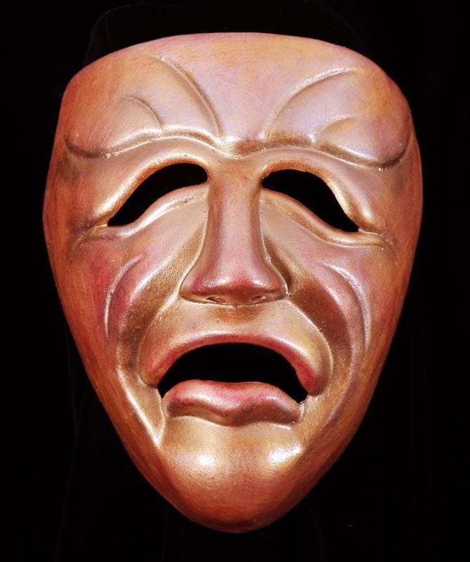 Decorative Tragedy Mask