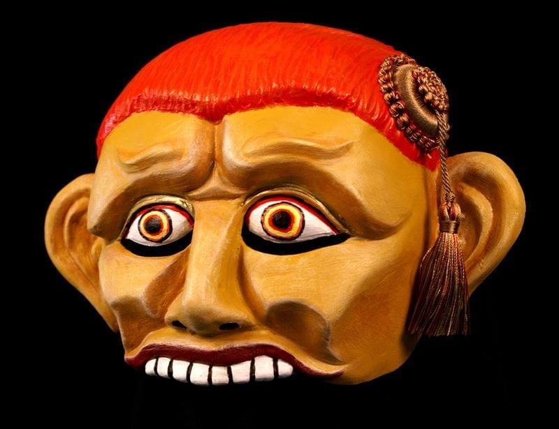 Trickster Half Mask 1