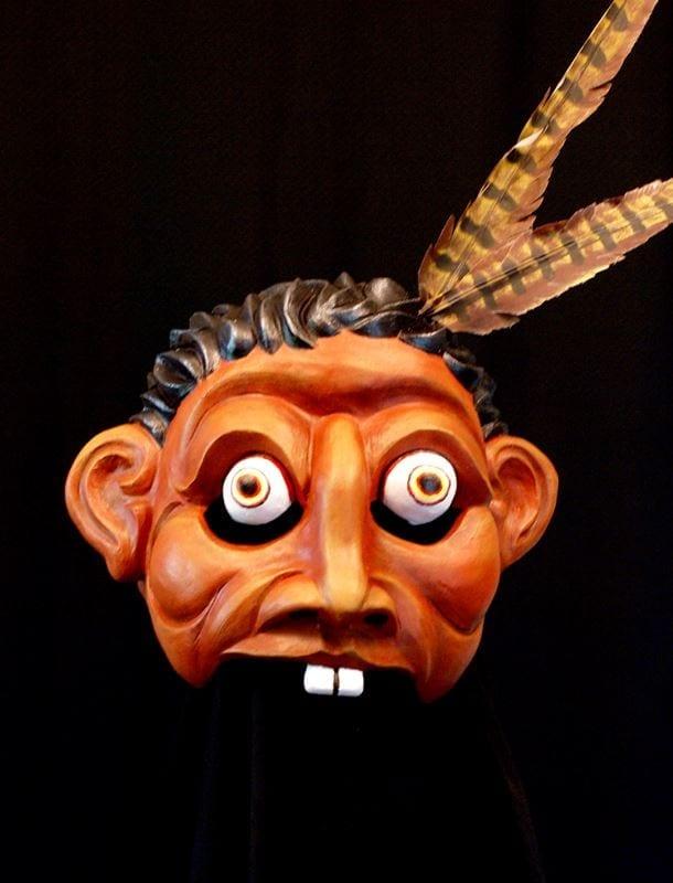 Trickster Half Mask