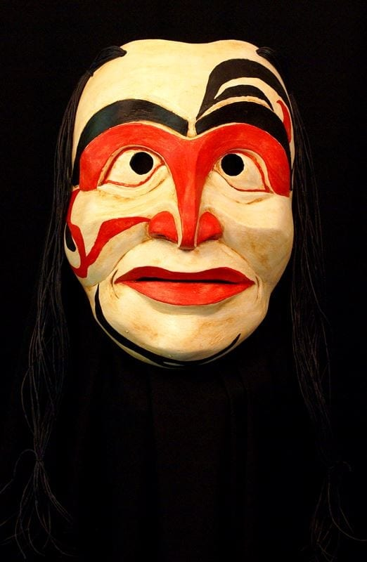 Native American Warrior Character Mask