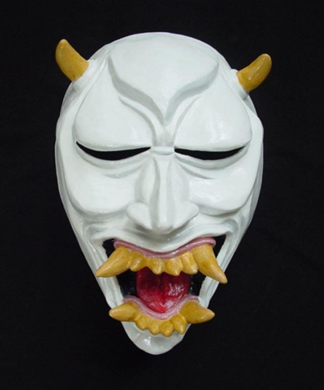 White Kabuki Mask