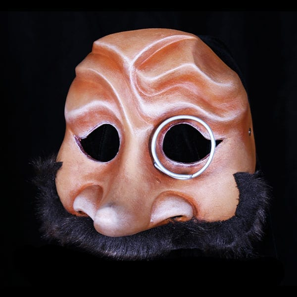 Capitano Mask for Commedia