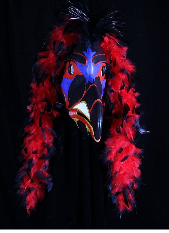 Native American Raven Mask