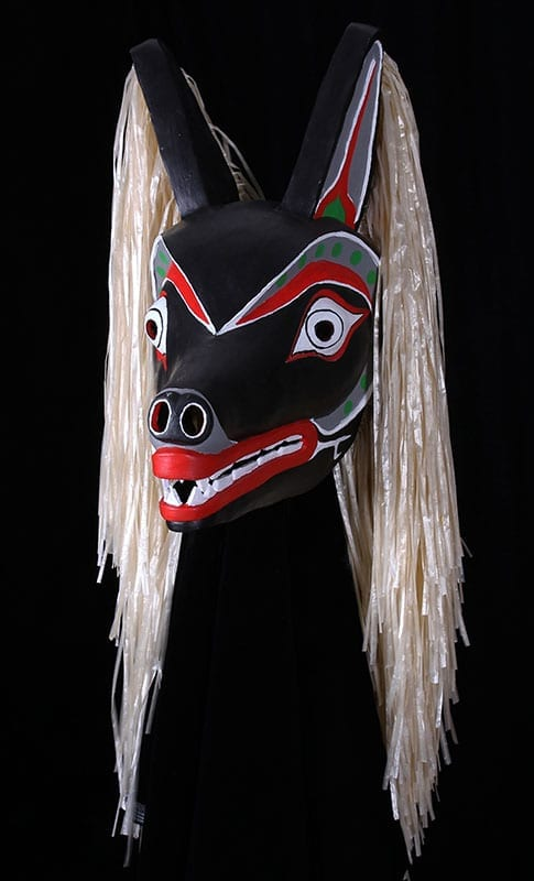 Native American Wolf Mask