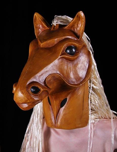 horse animal mask