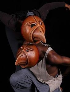 Acting Mask Crow Mask