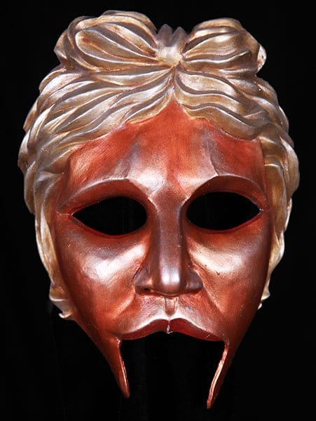 greek theatre half mask Apollo