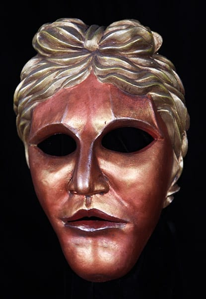 greek theatre mask apollo