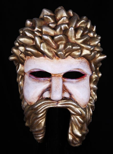 greek theater masks god