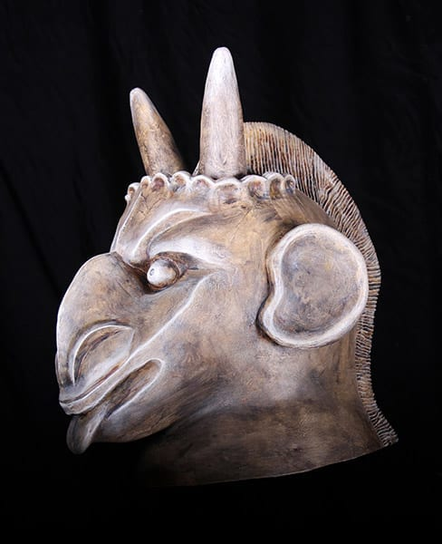 gargoyle mask head piece