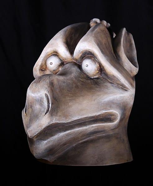 gargoyle mask hunchback