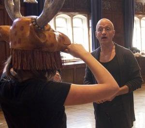 Acting Mask Training
