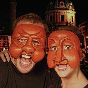 commedia masks